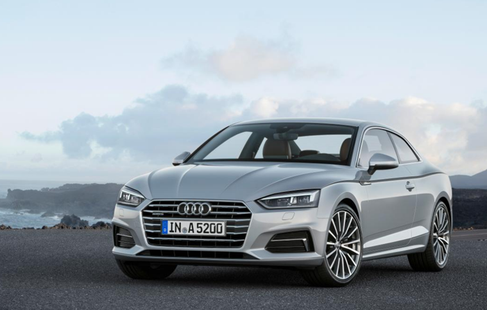 2017 Audi A5 Coupe-Front