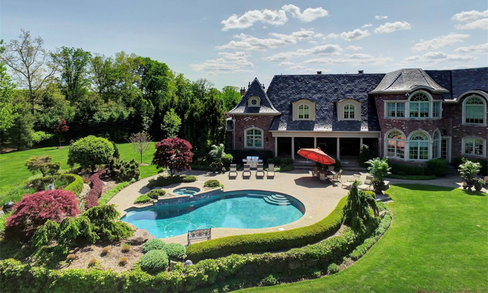 $9.9 Million Luxury Entertainer's Mansion in Alpine New Jersey 14