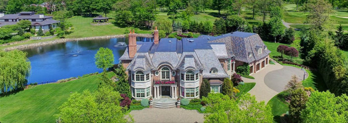 Estate of the Day: $9.9 Million Luxury Entertainer's Mansion in Alpine, New Jersey