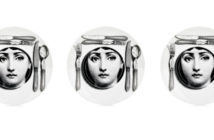 FORNASETTI Place Setting Plate 3