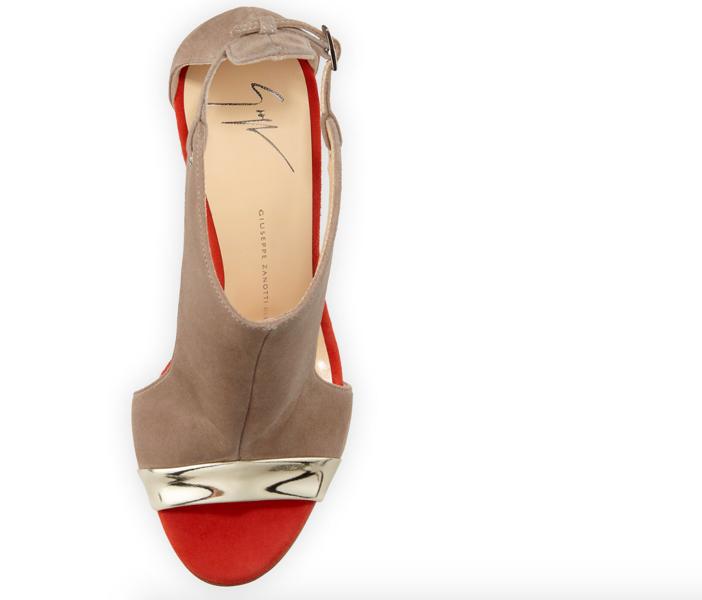 Giuseppe Zanotti Cutout-Side Glove Sandal 3