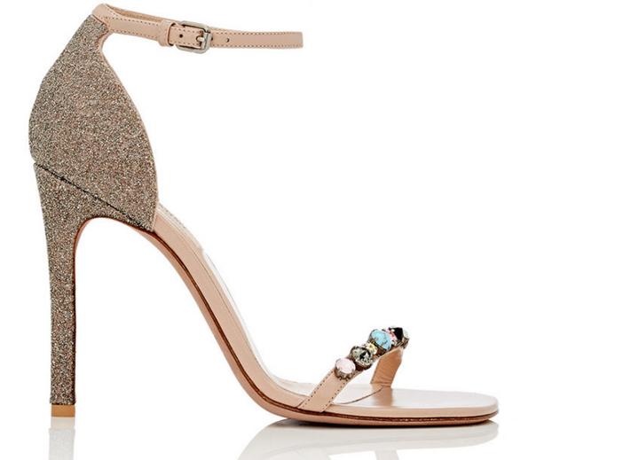 Valentino Embellished Ankle-Strap Sandals 3