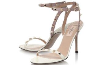 Valentino Rockstud 100 Sandal 4