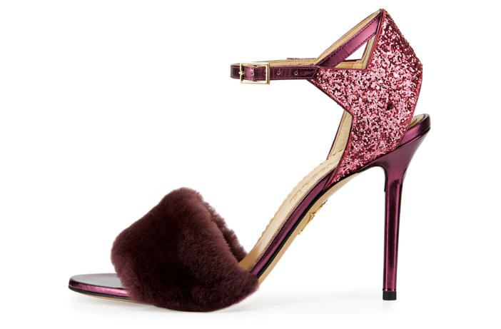 Charlotte Olympia Capella Fur d'Orsay Sandal 2