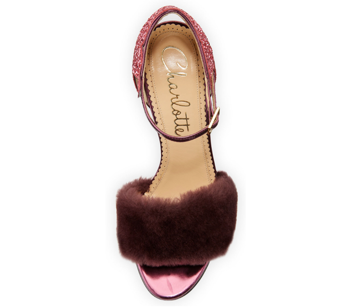 Charlotte Olympia Capella Fur d'Orsay Sandal 3