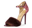 Charlotte Olympia Capella Fur d'Orsay Sandal 4