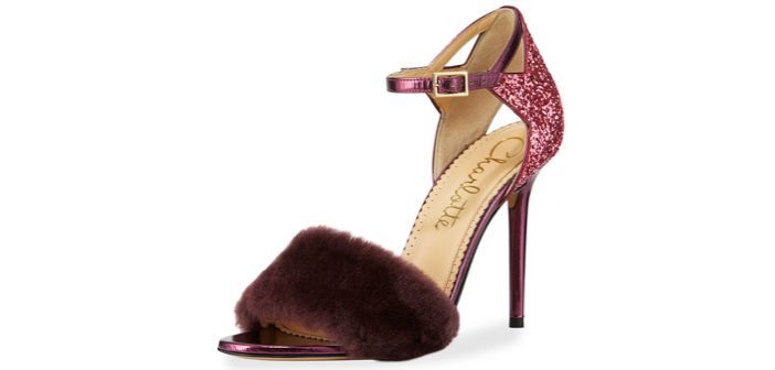 Shoe of the Day: Charlotte Olympia Capella Fur d'Orsay Sandal
