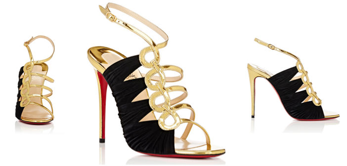 """Shoe of the Day: Christian Louboutin """"Tina Cage"""" Sandals"""