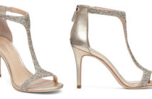 Imagine VINCE CAMUTO Phoebe Glitter T Strap High Heel Sandals