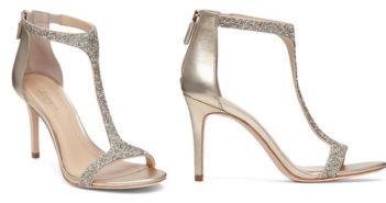 Imagine VINCE CAMUTO Phoebe Glitter T Strap High Heel Sandals