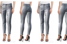 Monse Metallic Slim-Leg Jeans 4
