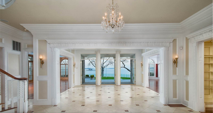 $11.9 Million Elegant Waterfront Georgian Colonial Mansion in Connecticut 11