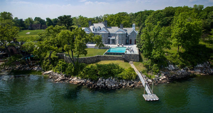 $11.9 Million Elegant Waterfront Georgian Colonial Mansion in Connecticut 4