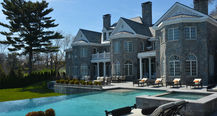 $11.9 Million Elegant Waterfront Georgian Colonial Mansion in Connecticut 7