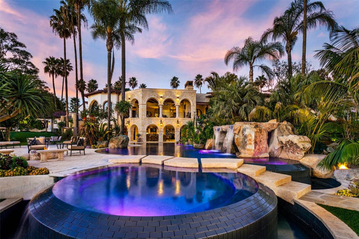 $12.9 Million Luxurious Exotic Mansion in Rancho Santa Fe California