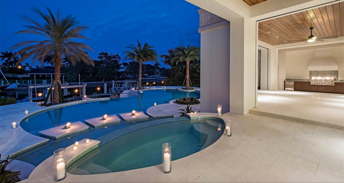 $14.5 Million Waterfront Cutlass Cove Beach Cove Estate in Naples Florida 3