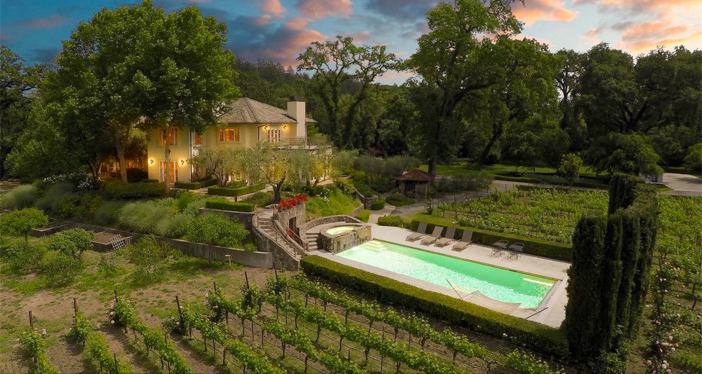 $18.9 Million Winery Estate in St. Helena California 3