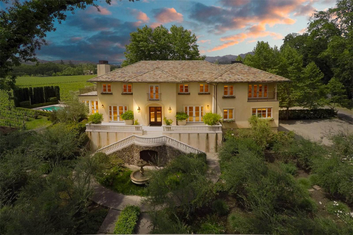 $18.9 Million Winery Estate in St. Helena California