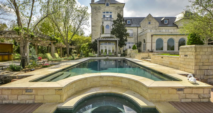 $19.9 Million Commander's Point English Manor in Austin Texas 20