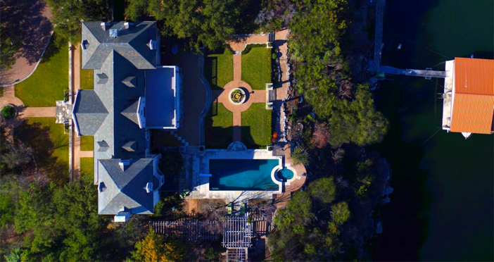 $19.9 Million Commander's Point English Manor in Austin Texas 26