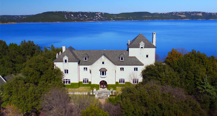 $19.9 Million Commander's Point English Manor in Austin Texas