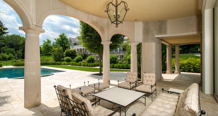 $29.5 Million Stone Georgian Mansion in Greenwich Connecticut 16