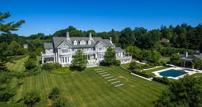 $29.5 Million Stone Georgian Mansion in Greenwich Connecticut 18