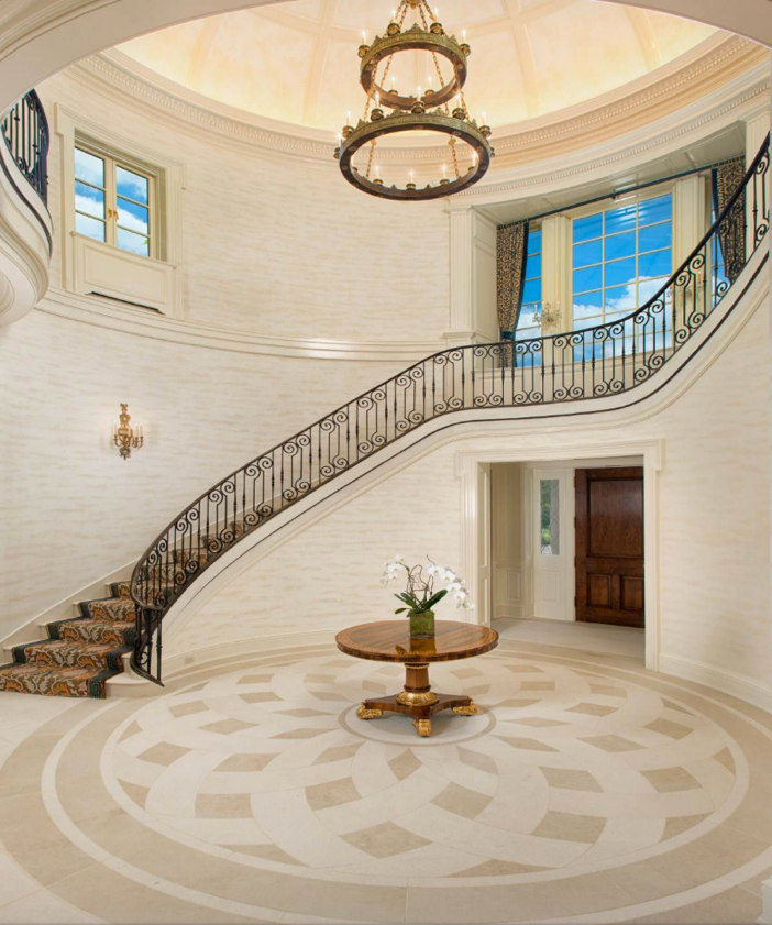 Greenwich Ct Luxury Mansions: Estate Of The Day: $29.5 Million Stone Georgian Mansion In