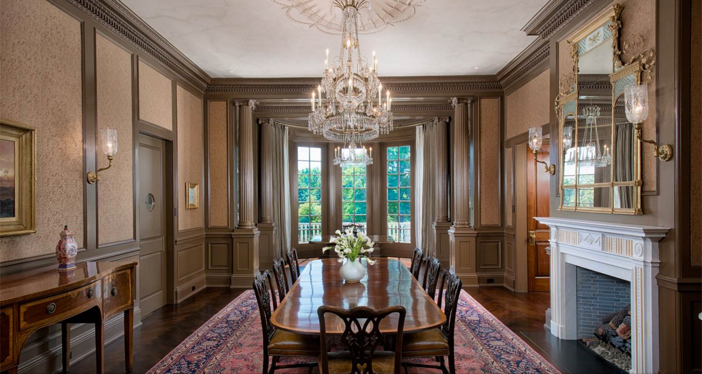 $29.5 Million Stone Georgian Mansion in Greenwich Connecticut 6