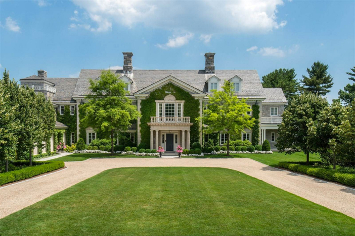 $29.5 Million Stone Georgian Mansion in Greenwich Connecticut