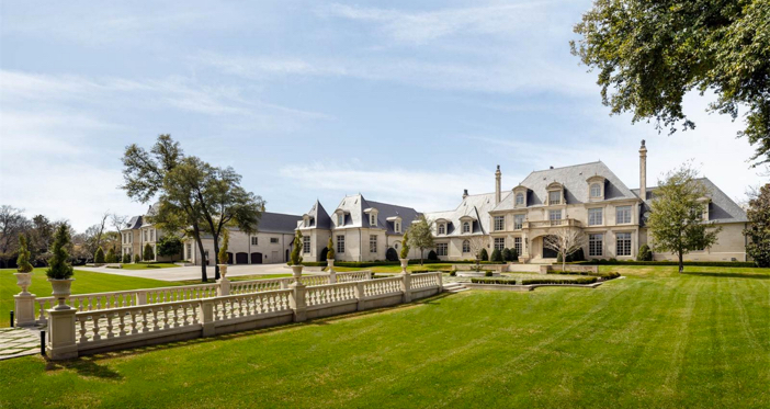 $32 Million Opulent French Mansion in Dallas Texas 5