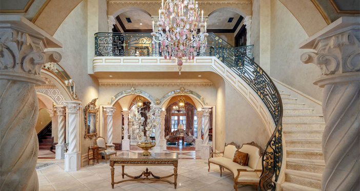 $32 Million Opulent French Mansion in Dallas Texas 6