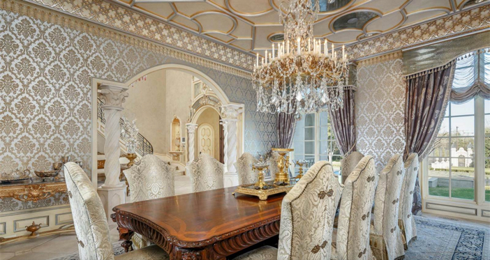 $32 Million Opulent French Mansion in Dallas Texas 7