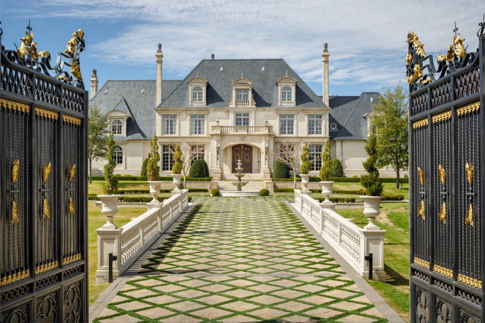 $32 Million Opulent French Mansion in Dallas Texas