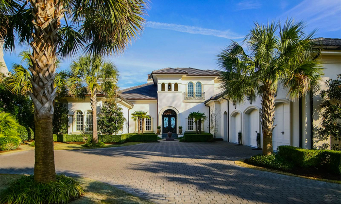 $5.2 Million Spectacular Mediterranean Revival in Wilmington North Carolina