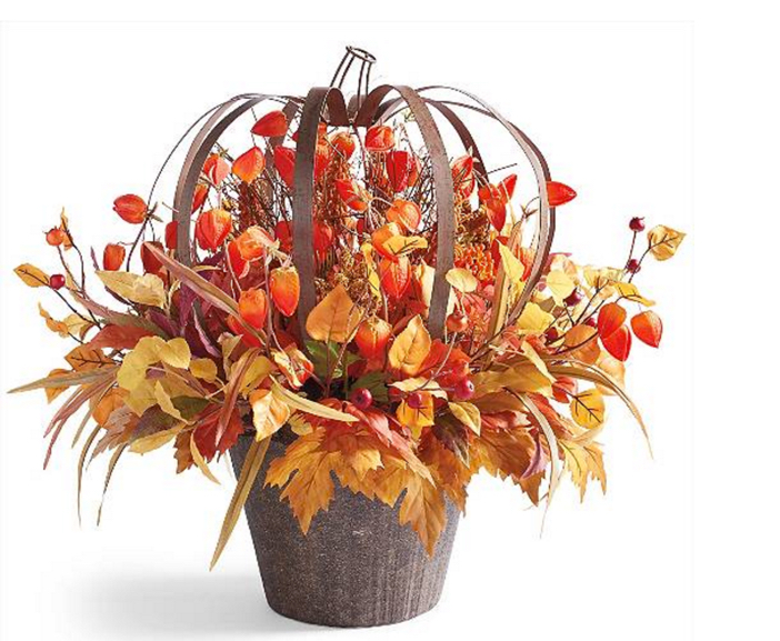 Autumn Lantern Urn Filler 2