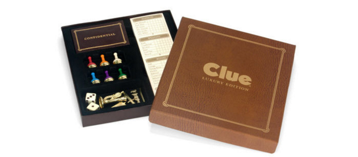 Clue Luxury Edition Board Game 3