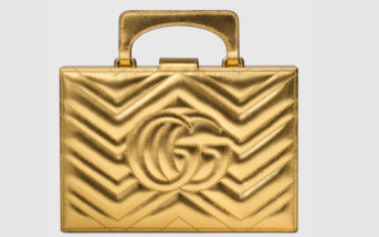 Gucci Broadway Matelassé Chevron Clutch 2