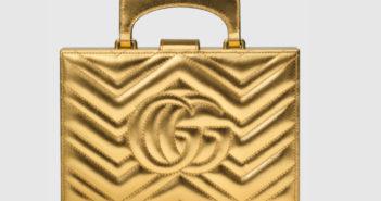 Gucci Broadway Matelassé Chevron Clutch