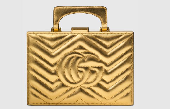 Gucci Broadway Matelassé Chevron Clutch 2