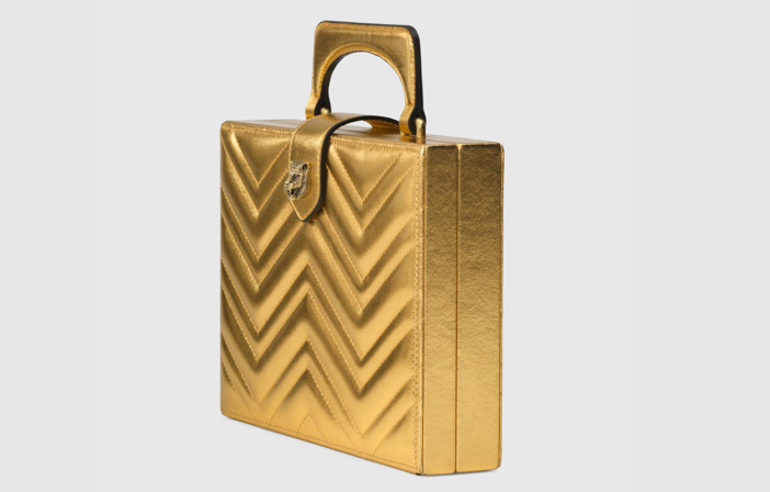 Gucci Broadway Matelassé Chevron Clutch 3