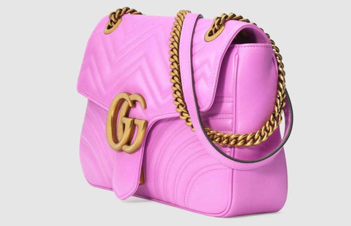 Gucci GG Marmont Matelassé Shoulder Bag 2