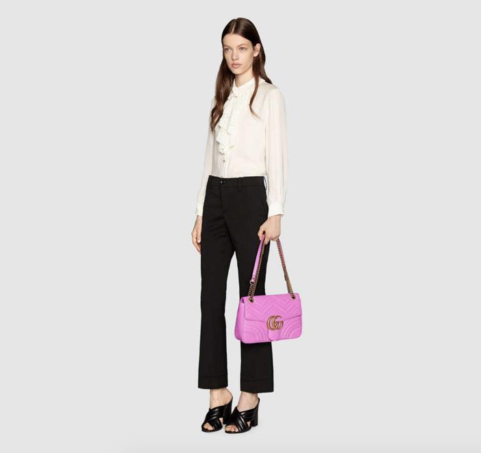 Gucci GG Marmont Matelassé Shoulder Bag 4