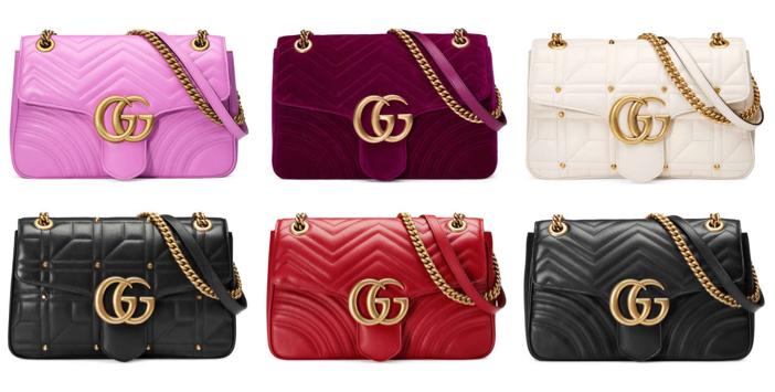 Gucci GG Marmont Matelassé Shoulder Bag 5