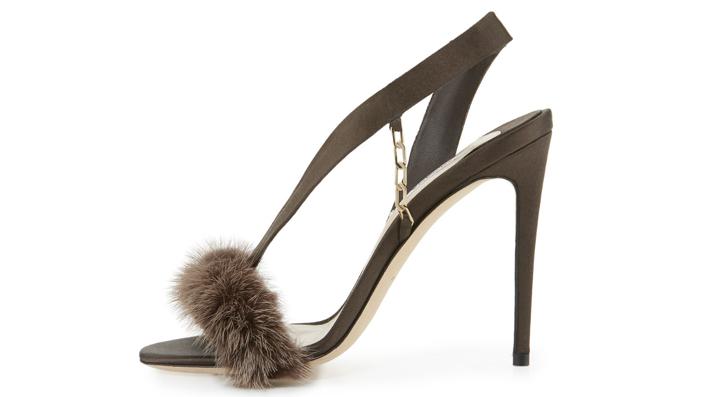 Olgana Paris L'Amazone Mink Fur Sandal 2