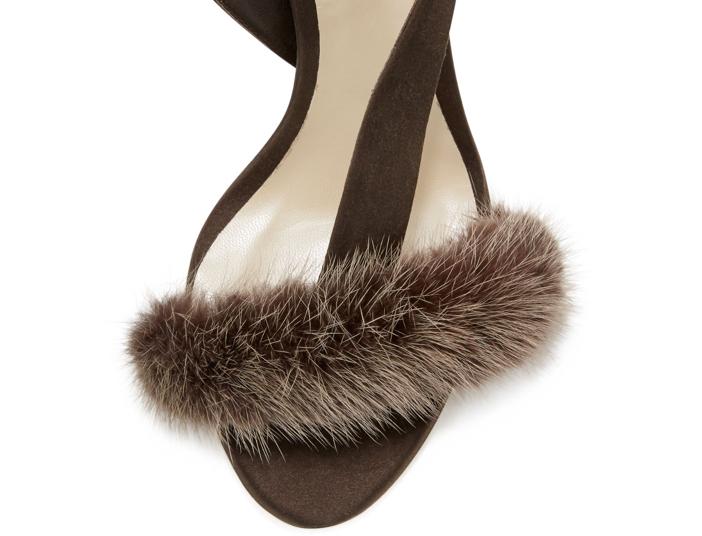 Olgana Paris L'Amazone Mink Fur Sandal 3