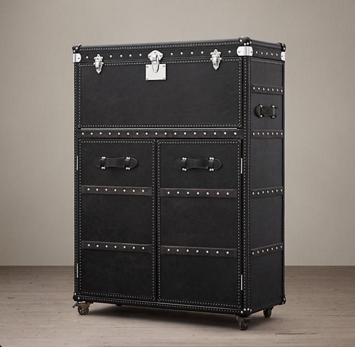 Restoration Hardware Mayfair Bar Cart 4