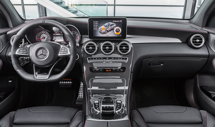 2017-Mercedes-AMG-GLC43-Interior