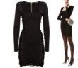 Balmain Lace Up Front Knit Dress 3