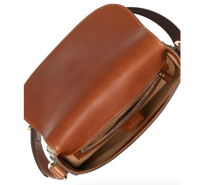 Gucci GG Canvas Saddle Bag 3
